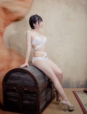 Ayane Mizuki swimsuit bikini gravure The supernova of the invincible shortcut slender body020