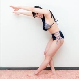 Nana Ai Moe swimsuit bikini gravure Big newcomer with I cup full of love015