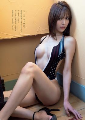 Swimsuit bikini gravure of Nono Mori Can I have a vaginal cuddle004
