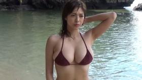 Minami Wachi swimsuit bikini gravure H cup erotic smart sister013