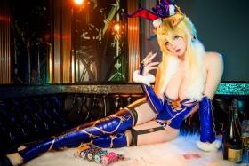 Cosplay Bunny Girl Saber Artoria Pendragon015