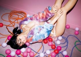 Yuno Ohara Swimsuit Bikini Gravure Ready to see the new Denshitsu 2021010