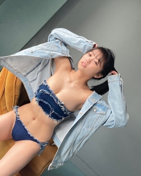 Yuno Ohara Swimsuit Bikini Gravure Ready to see the new Denshitsu 2021015