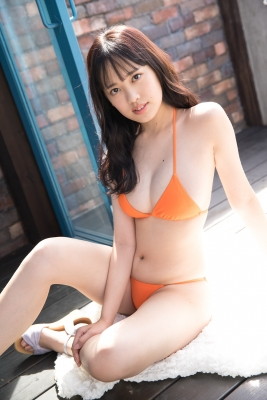 Sarina Kashiwagi Swimsuit Gravure Orange Bikini Vol2008
