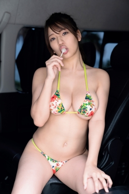 Aoi Fujino Swimsuit Bikini Gravure Bust 100 Icup Kaga Hyakumangoku Bust 2021041