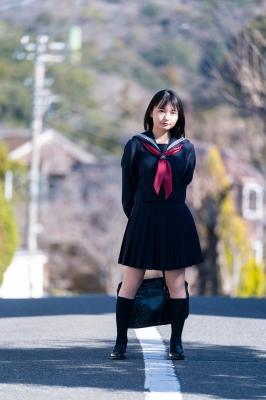 Mizuki Kirihara Swimsuit Bikini Gravure JK Last 2021003