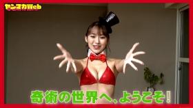 Magic in red swimsuit Yuki Mitera Too beautiful female magician red bikini 2021006