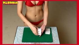 Magic in red swimsuit Yuki Mitera Too beautiful female magician red bikini 2021054
