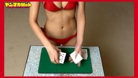 Magic in red swimsuit Yuki Mitera Too beautiful female magician red bikini 2021055