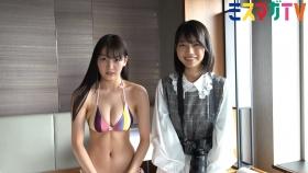 Haruna Yoshizawa Swimsuit Bikini Gravure In a hotel suite 2021002