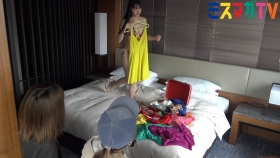 Haruna Yoshizawa Swimsuit Bikini Gravure In a hotel suite 2021061