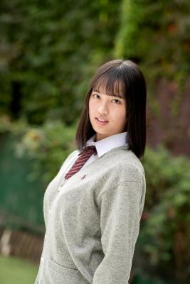 Sarina Kashiwagi School Uniform and Swimsuit012