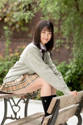 Sarina Kashiwagi School Uniform and Swimsuit013