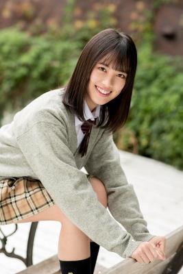 Sarina Kashiwagi School Uniform and Swimsuit015