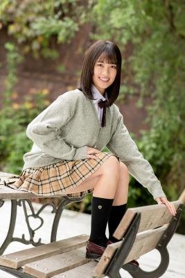 Sarina Kashiwagi School Uniform and Swimsuit016