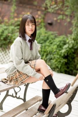 Sarina Kashiwagi School Uniform and Swimsuit017