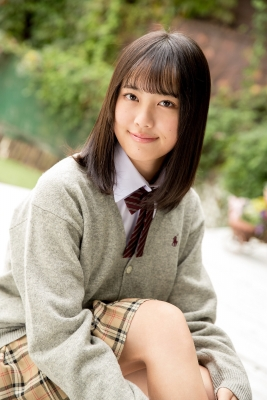 Sarina Kashiwagi School Uniform and Swimsuit020