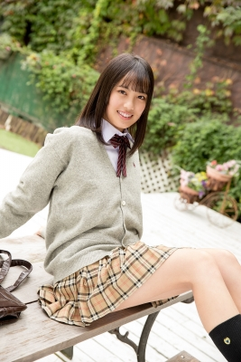 Sarina Kashiwagi School Uniform and Swimsuit022