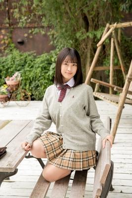 Sarina Kashiwagi School Uniform and Swimsuit027