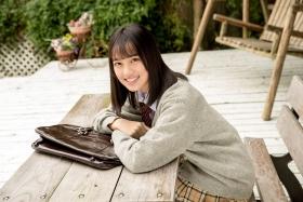 Sarina Kashiwagi School Uniform and Swimsuit028