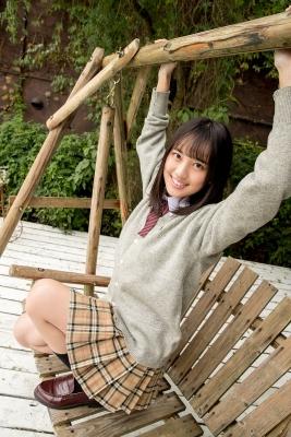 Sarina Kashiwagi School Uniform and Swimsuit034