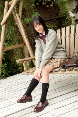 Sarina Kashiwagi School Uniform and Swimsuit035