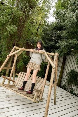 Sarina Kashiwagi School Uniform and Swimsuit031