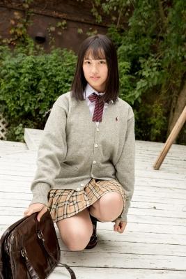 Sarina Kashiwagi School Uniform and Swimsuit041