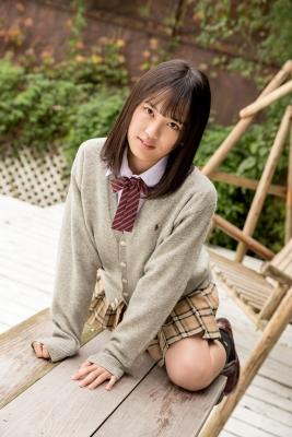 Sarina Kashiwagi School Uniform and Swimsuit046