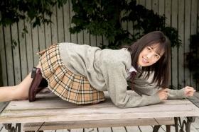Sarina Kashiwagi School Uniform and Swimsuit052