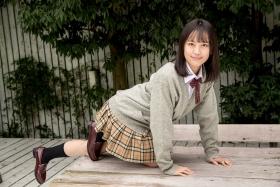 Sarina Kashiwagi School Uniform and Swimsuit050