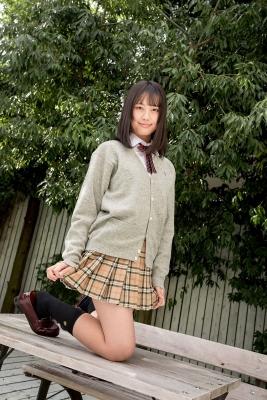 Sarina Kashiwagi School Uniform and Swimsuit055