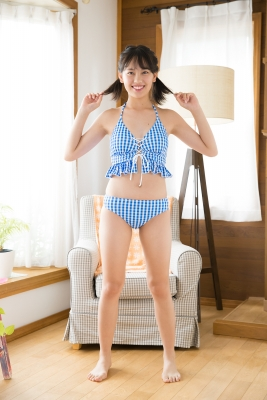 Sarina Kashiwagi School Uniform and Swimsuit2010