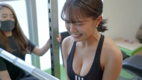 Rio Teramoto Sportswear Swimsuit 19 years old Training at Personal Gym 2021012
