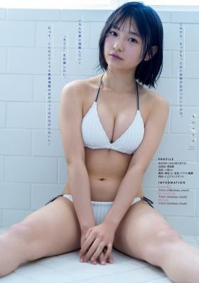 Mizuki Kirihara swimsuit bikini gravure Im sorry for being too cute005