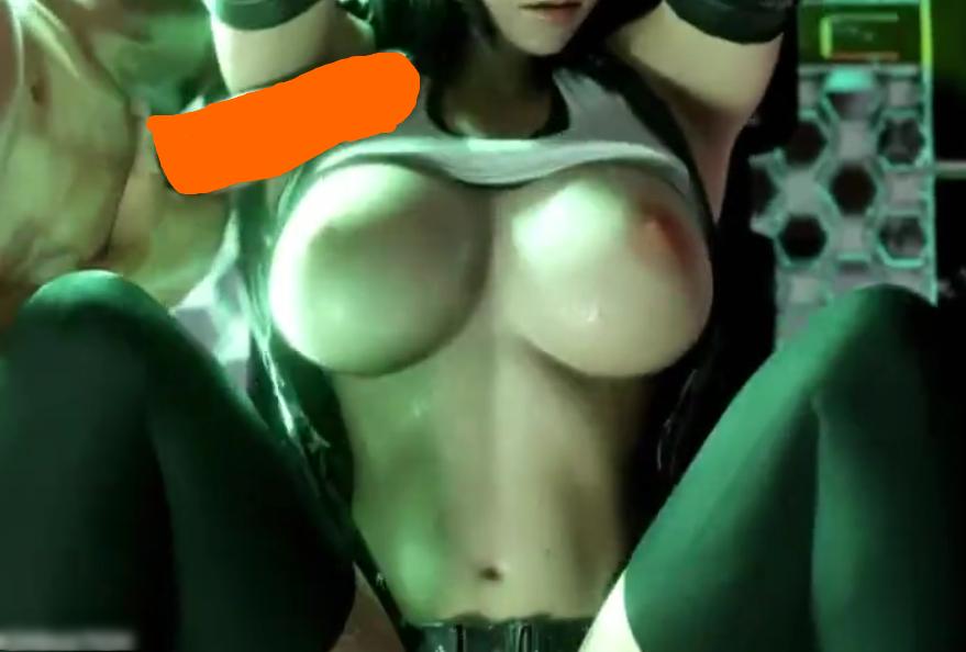 【無 3Dエロアニメ】 FFⅦでティファ・ロックハートがルーファウス神羅に捕まり、部下たちに犯されるww
