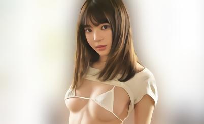 【槙いずな】美乳スレンダーボディ、超絶カワイイ美少女JKが中年オヤジとねちっこく絡み合う濃密セックス!