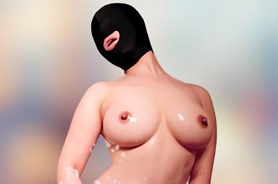 【企画】旦那にバレたら離婚決定、借金が原因で性奴隷へと調教されてしまう巨乳人妻・・・マスクをつけられ好き放題犯される激ピストン中出しセックス!!
