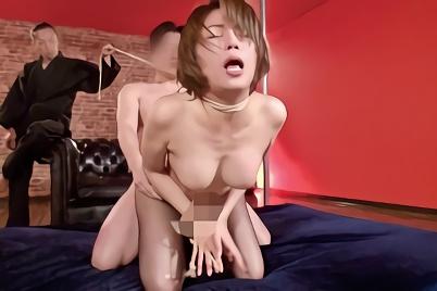 【高槻れい】美脚、巨乳の美熟女が麻縄で縛られ快楽を植え付けられる緊縛調教セックス!!