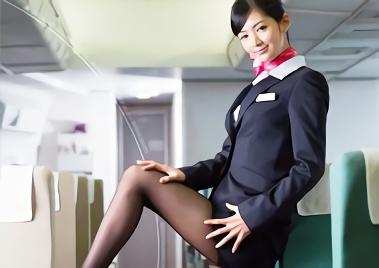 【麻生希】長身スレンダー、モデル体型の激カワ客室乗務員(CA)は淫乱ビッチ!フライト終わりのホテルで機長のチンポを貪る濃密セックス!!
