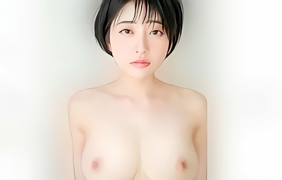 【夏目響】ショートカット巨乳の超絶カワイイお姉さんがAVデビュー!スイートルームの一室で男優とねちっこく絡み合う濃密セックス!!
