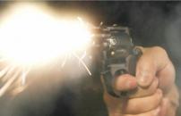 銃が発射される
