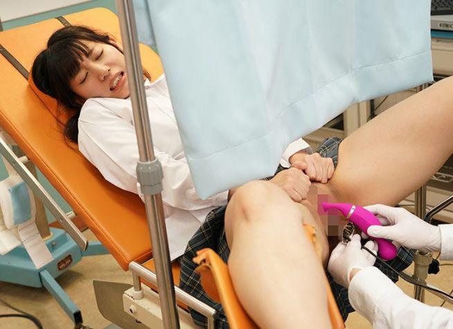 初めて産婦人科に来たひよこ女子を見つけるたびにマ○コの奥をこねくり回して強●開発