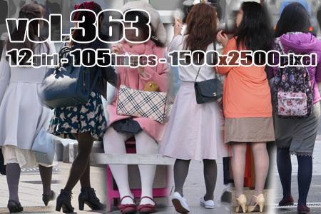 ■vol363-色っぽいむっちり美脚に張り付くカラータイツ
