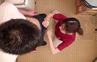 【カムカムぴゅっ!】ズボンのチャックを下して逆レ○プする歯科衛生士の深田えいみ