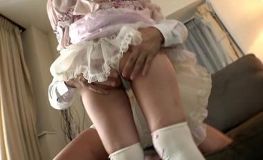 【完全着衣】中年オヤジとゴシック(ゴスロリ)美少女【永瀬ゆい】#6