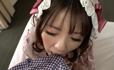【完全着衣】中年オヤジとゴシック(ゴスロリ)美少女【永瀬ゆい】#12
