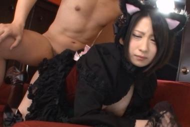 【トコダケ】着衣のままバックでハメる猫耳ゴスロリ美女【鷹宮ゆい】