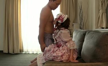【完全着衣】中年オヤジとゴシック(ゴスロリ)美少女【永瀬ゆい】11