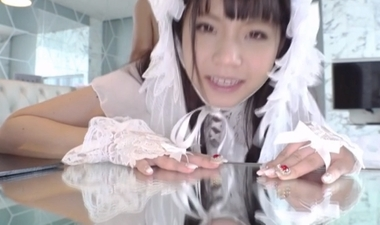 着衣のままバックでハメる純白ロリータの永野いち夏
